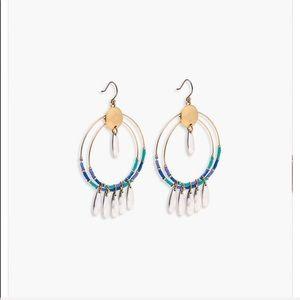 Lucky brand beautiful beaded statement earring
